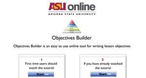 objectives builder