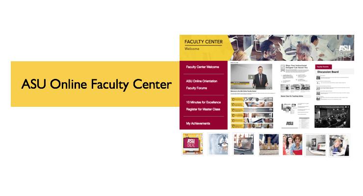 The ASU Online Faculty Center