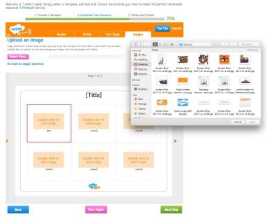 twinkl create wordmat guide