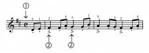 Allegretto excerpt