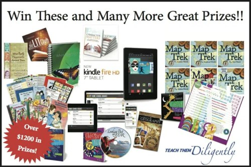 Win These Prizes With Launch Your Homeschool Facebook Party