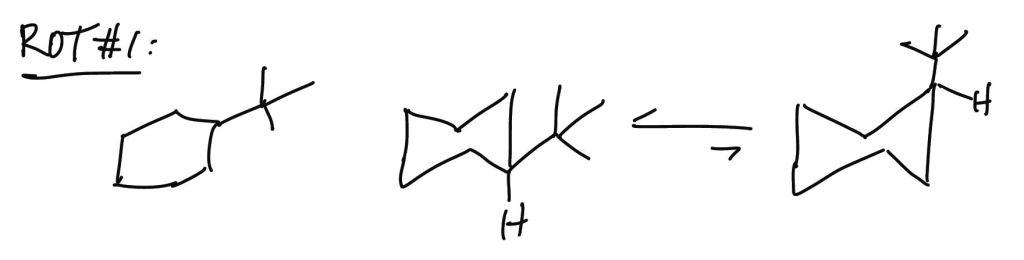 Rules Of Thumb Rots For Chair Conformations And Substituent Stability Teach The Mechanism