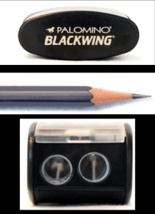 I haven't bought this  Palomino Long Point Pencil Sharpener  yet, but my adult students swear it's fabulous. It's apparently the best pencil sharpener ever (except my fabulous  iPoint electric  one.)  It sharpens pencils using a two step sharpening process.The first step sharpens the pencil's wood case.The second step sharpens the graphite core.Comes with two replacement blades.