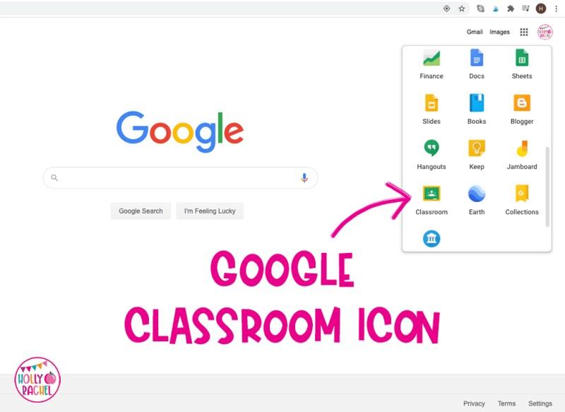login to google classroom
