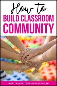 build classroom community