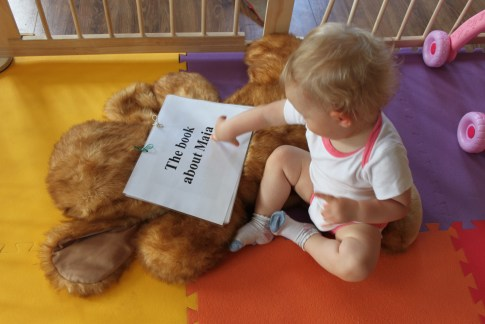Customized books for babies