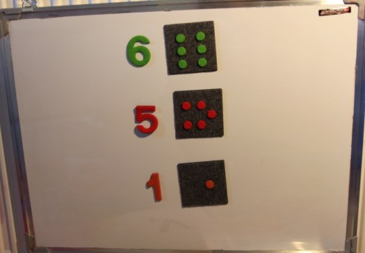 Matematyka z tablicą magnetyczną