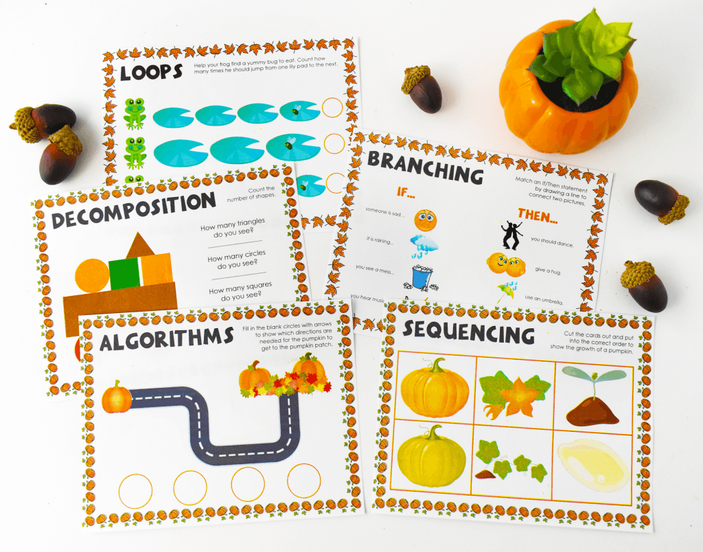 Coding For Kindergarten 5 Basic Coding Concepts 5 Year