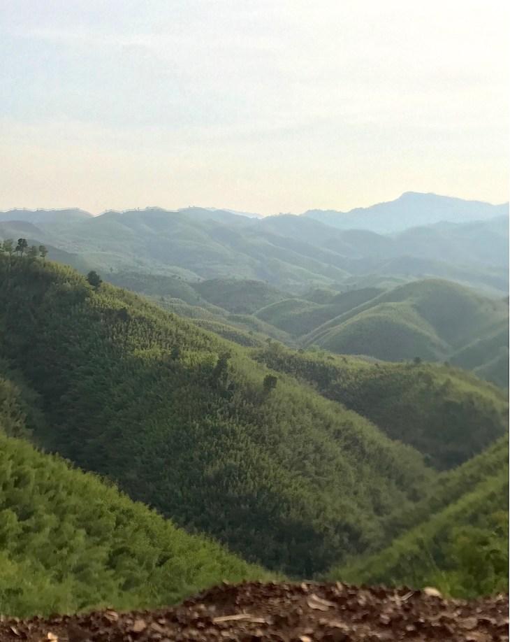 06. Paletwa- Samee Hills from Bike