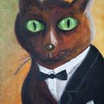Картинка: Кот в ливрее