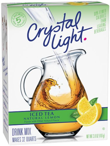 Crystal Light Ice Tea With Lemon, 3.8-Ounce Units (Pack of 5)