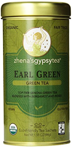 Zhena's Gypsy Tea, Earl Green, 22 Count Tea Sachets