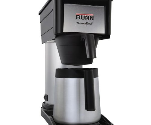 Bunn Coffee Maker High Altitude : BUNN BTX-B(D) ThermoFresh High Altitude 10-Cup Home Thermal Carafe Coffee Brewer, Black