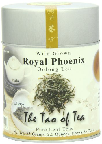 The Tao of Tea, Royal Phoenix Oolong Tea, Loose Leaf, 2.5 Ounce Tin