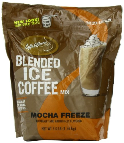 Frappe Freeze Ice Blended Coffee, Mocha, 3-Pound