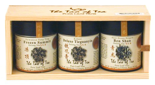 The Tao of Tea Oolong Tea Sampler, 3-Count Box