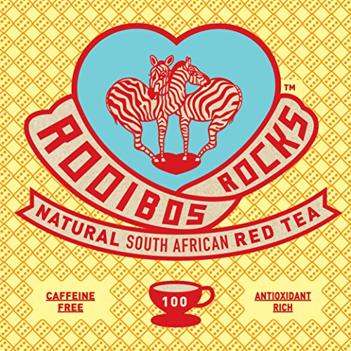 Rooibos South African Red Bush Tea Bags – 100 Count – 8.82oz – 100% Natural Organic, Caffeine Free, Sweet Tasting, Anti-Oxidant Rich, Mineral Dense, Healthy Herbal Tea. Pronounced Royboss not Rooibus. GUARANTEED! Treat Yourself. Try Now!