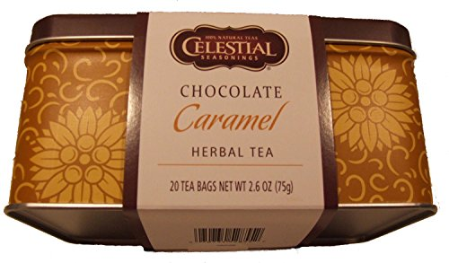Celestial Seasonings Limited Edition Tea Tins (Chocolate Caramel Herbal Tea)