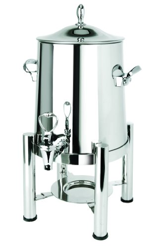 Eastern Tabletop 3123 Stainless Steel 3-Gallon Coffee Urn with Pillared Legs