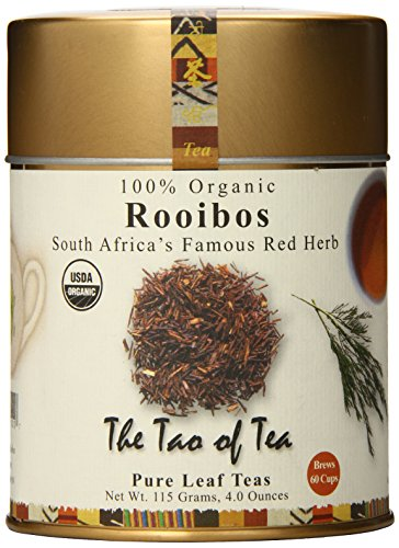 The Tao of Tea, Rooibos Tea, Loose Leaf, 4 Ounce Tin
