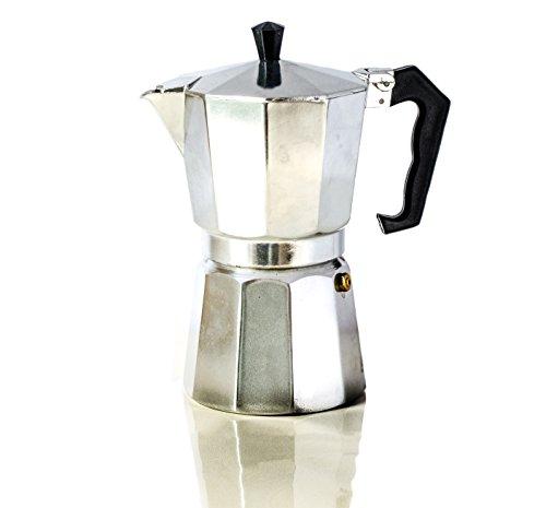 The Abundant Kitchen Classic 6 Cup Stovetop Espresso Maker