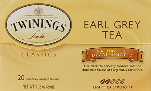 Twinings Earl Grey Decaf Tea, Tea Bags, 20 Count