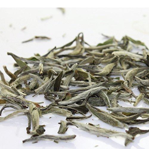 Premium Silver Needle White Tea – Bai Hao Yinzhen, Organic – 4oz / 111g