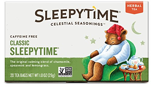 Celestial Seasonings Sleepytime Tea, 20 Count (Pack of 6)