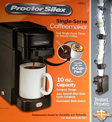 Proctor Silex Keurig Combination Coffee Maker