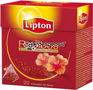 Lipton Tea Rooibos Premium Pyramid Tea Bags 20 Count