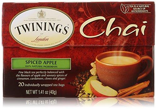 Twinings Spiced Apple Chai Tea, 20 Count