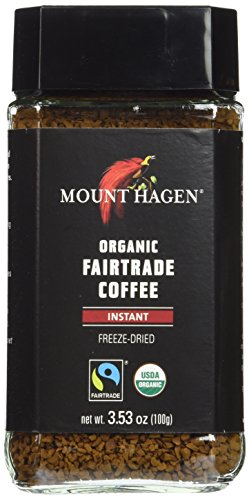 Mount Hagen Organic Coffee- 3.53 oz jar