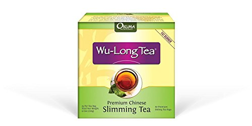 1 Box of Wu-Long Premium Slimming Tea – All Natural Diet Oolong Tea , 100% Pure and the Original