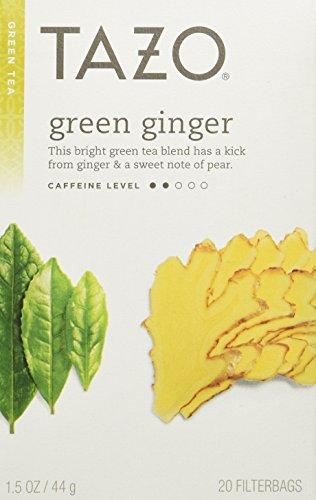 Tazo Green Ginger Tea — 20 Tea Bags