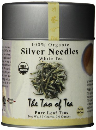 The Tao of Tea, Silver Needles White Tea, Loose Leaf, 2 Ounce Tin