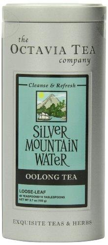 Octavia Tea Silver Mountain Water Oolong Tea, Loose Tea, 3.7-Ounce Tin