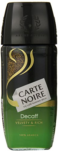 CARTE NOIRE Decaff Instant Coffee, 3.5 Ounce