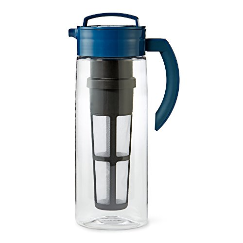 Large Blue Infusion Tea Pitcher