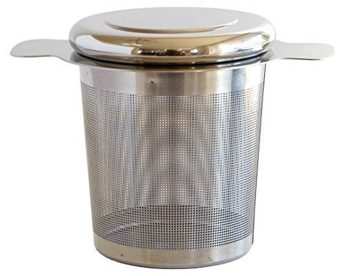 Simple Modern Tea Infuser 304 Stainless Steel Extra-Fine Brew-in-Mug Tea Strainer with Lid – Perfect for Loose Leaf Tea