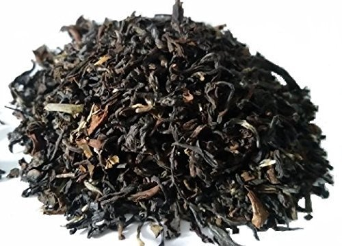 2nd Flush Darjeeling Black Tea-Loose Leaf, Organic and Fair Trade From the Singbulli Estate in Himalayas. Rich in Anti-Oxidants and Minerals- Perfect for Gifting or Sharing with Loved Ones (3.53 Oz)