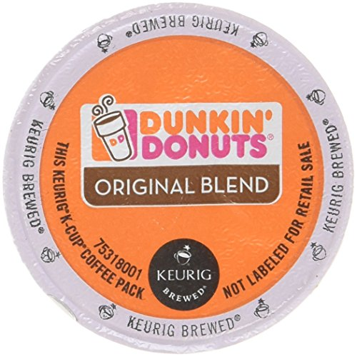 32 Count – Dunkin Donuts Original Flavor Coffee K-Cups For Keurig K Cup Brewers (2 boxes of 16 k cups)