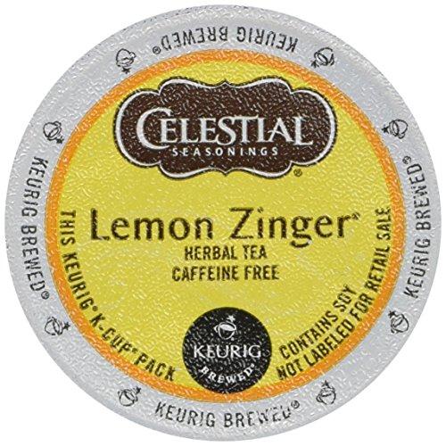 Celestial Lemon Zinger Tea – 18 ct