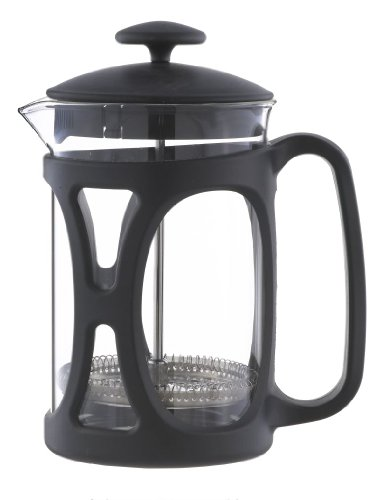 Grosche Basel French Press Coffee and Tea Maker (Large – 800 ml, Black)