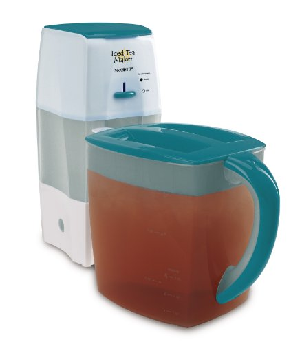 Mr. Coffee TM75TS Fresh Tea Iced Tea Maker, Teal