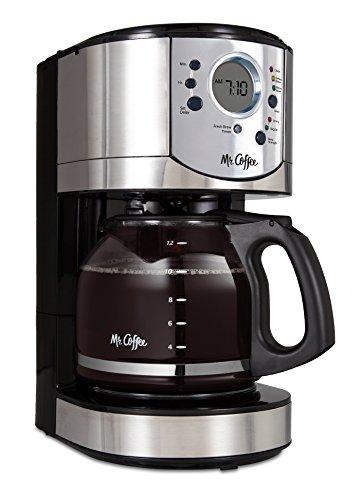 Mr. Coffee BVMC-CJX31-AM 12 Cup Programmable Coffeemaker, Black