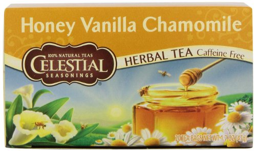 Celestial Seasonings, Tea, Honey Vanilla Chamomile,  20 ct