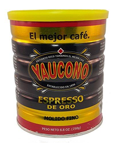 Yaucono Espresso Coffee Can 8.8oz