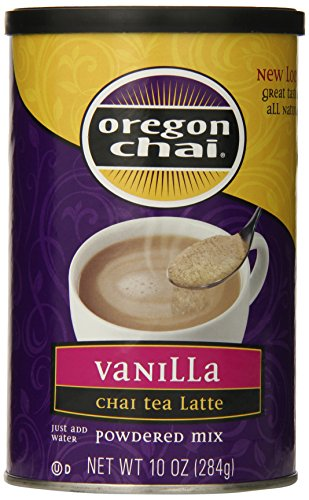 Oregon Chai Vanilla Chai Tea Latte Mix, 10 Ounce