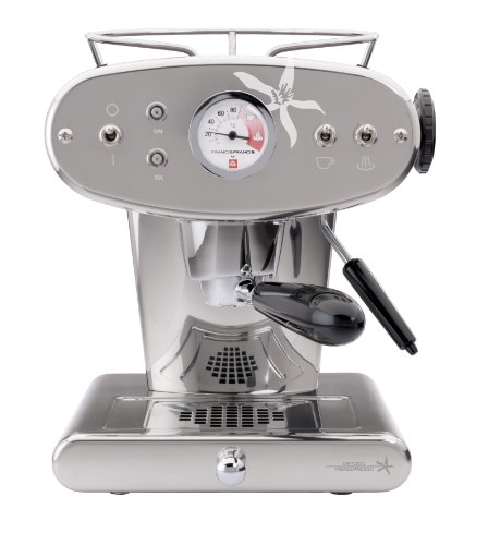 Francis Francis for Illy 216558 X1 iperEspresso Machine, Stainless