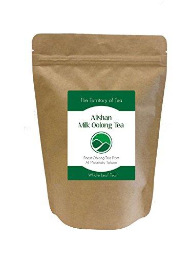 The Territory of Tea Alishan Milk Oolong (8 oz)